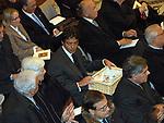 MATTEO ARPE<br /> MESSA COMUNITA' SANT'EGINIO- CHIESA SAN GIOVANNI IN LATERANO ROMA 2003
