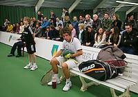 18-01-14,Netherlands, Rotterdam,  TC Victoria, Wildcard Tournament, ,   Glenn Smits (NED)   Sebastiiaan Bonapart (NED)<br /> Photo: Henk Koster