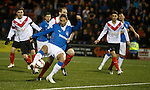Bilel Mohsni gets his shirt tugged on the edge of the box