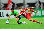 Shanghai SIPG (CHN) vs Jeonbuk Hyundai Motors (KOR) during their AFC Champions League 2016 Quarter-final match on Tuesday, 23 August 2016, held at Shanghai stadium in Shanghai, China. Photo by Marcio Machado /Power Sport Images