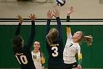 2014 girls volleyball: Pinewood School