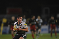 Freddie Burns of Leicester Tigers in action during the Premiership Rugby match between Saracens and Leicester Tigers - 02/01/2016 - Allianz Park, London<br /> Mandatory Credit: Rob Munro/Stewart Communications