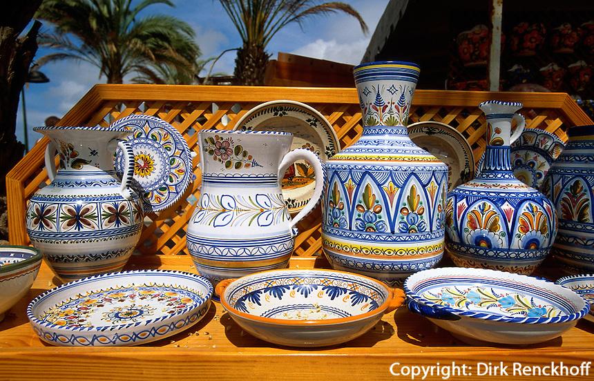 Spanien, Kanarische Inseln, Teneriffa, Playas de Las Americas, Keramik-Geschäft