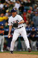 Brad Lidge of the USA during the World Baseball Championships at Angel Stadium in Anaheim,California on March 12, 2006. Photo by Larry Goren/Four Seam Images