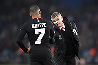 dejection - 07 KYLIAN MBAPPE (PSG) - FAIR PLAY - OLE GUNNAR SOLSKAER (ENTRAINEUR MANCHESTER UNITED)<br /> Parigi 6-03-2019 <br /> Paris Saint Germain - Manchester United <br /> Champions League 2018/2019<br /> Foto Anthony Bibard / Panoramic / Insidefoto