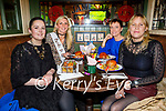 Enjoying the hen party of Siobhan Fleming from Currow in the Mall Tavern on Saturday. <br /> Shauna Lyons, Siobhan Fleming, Riona Kennedy and Maura O'Grady Mann.