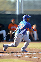 Chicago Cubs outfielder Yasiel Balaguert (25) during an Instructional League game against the San Francisco Giants on October 18, 2013 at Giants Baseball Complex in Phoenix, Arizona.  (Mike Janes/Four Seam Images)