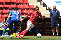 Josh Davison of Charlton Athletic in action during Charlton Athletic vs Wigan Athletic, Sky Bet EFL Championship Football at The Valley on 18th July 2020