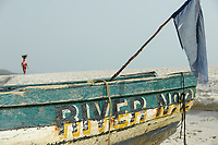 SIERRA LEONE, Freetown, beach river No. 2