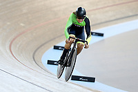 Ethan Titheridge competes in the Men U19 Sprint during the 2020 Vantage Elite and U19 Track Cycling National Championships at the Avantidrome in Cambridge, New Zealand on Saturday, 25 January 2020. ( Mandatory Photo Credit: Dianne Manson )