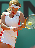 6-6-06,France, Paris, Tennis , Roland Garros, Kuznetsova