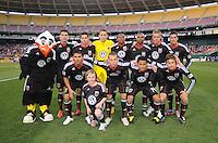 DC United team photo. The Chicago Fire defeated DC United 2-0 at RFK Stadium, Saturday April 17, 2010.