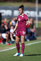 Carson Pickett (16) of Florida State waits for the ball to go into play during the game at Ludwing Field in College Park, MD.  Florida State defeated Maryland, 1-0.