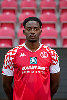 16th August 2020, Rheinland-Pfalz - Mainz, Germany: Official media day for FSC Mainz players and staff; Jean-Philippe Mateta FSV Mainz 05