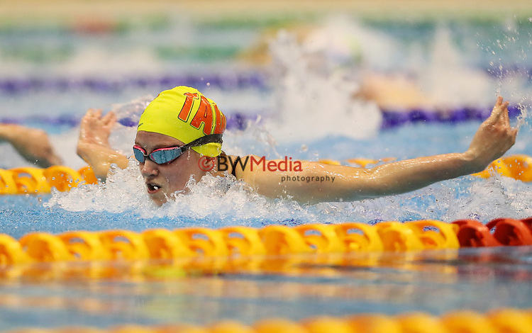 Hannah Campbell. Session 2 of the AON New Zealand National Age Group Swimming Champs, Wellington Regional Aquatic Centre, Auckland, New Zealand. Monday 19 April 2021 Photo: Simon Watts/www.bwmedia.co.nz
