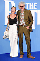 """Sir Bob Geldof and Jeanne Marine<br /> at the Special Screening of The Beatles Eight Days A Week: The Touring Years"""" at the Odeon Leicester Square, London.<br /> <br /> <br /> ©Ash Knotek  D3154  15/09/2016"""