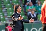 19.09.2020, wohninvest Weserstadion, Bremen, GER,  SV Werder Bremen vs Hertha BSC Berlin, <br /> <br /> <br />  im Bild<br /> <br />  Bruno Labbadia (Trainer Hertha BSC)<br />     Gestik, Mimik, Emotionen in der Cochingzone am Spielfeldrand, <br /> <br /> Foto © nordphoto / Kokenge<br /> <br /> DFL regulations prohibit any use of photographs as image sequences and/or quasi-video.