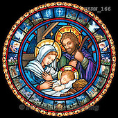 Randy, HOLY FAMILIES, HEILIGE FAMILIE, SAGRADA FAMÍLIA, paintings+++++SG-Holy-Family-stained-glass-with-vignettes,USRW166,#xr# ,church window, stained glass