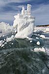 melting ice castle