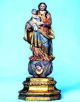 Imagem original da Santa de Nossa Senhora de Nazaré que se encontra na Basílica de Nazaré em Belém- Pará-Brasil<br /> ©Foto: Paulo Santos/ Interfoto<br /> Cromo 120 P1 C2
