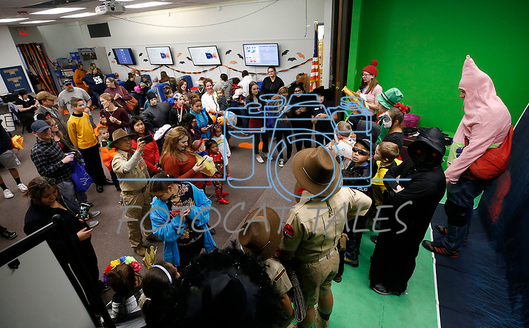 Images from the Boo-nanza event at the Carson City Library, in Carson City, Nev., on Tuesday, Oct. 30, 2018. <br /> Photo by Cathleen Allison/Nevada Momentum