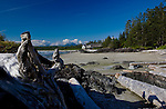 The Wickaninnish Visitor Center in Pacific Rim National Park, Canada, affords a great view of Long Beach, the longest uninterrupted beach in the park, and holds maritime and First People's exhibits.