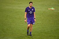 HARRISON, New Jersey - Saturday, August 12, 2017: The New York Red Bulls take on Orlando City SC at home at Red Bull Arena during the 2017 MLS regular season.