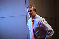 United States Representative Jim Jordan (Republican of Ohio), Ranking Member, US House Committee on the Judiciary, attends a House Judiciary Committee hearing on Capitol Hill in Washington, Wednesday, June 24, 2020, on oversight of the Justice Department and a probe into the politicization of the department under Attorney General William Barr. <br /> Credit: Susan Walsh / Pool via CNP/AdMedia