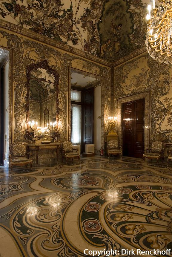 Spanien, im Palacio Real (Königspalast) in Madrid