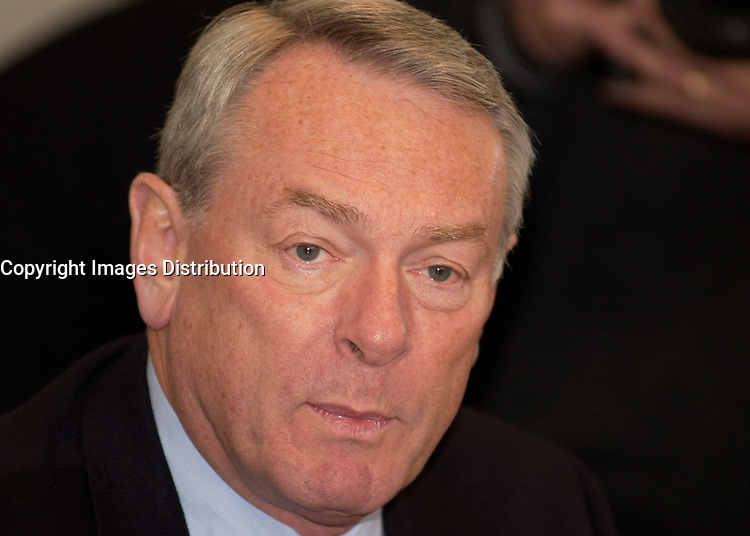 Jan 18, 2002, Montreal, Quebec, Canada; <br /> <br />  Richard Pound, Chairman of the World Anti-<br /> Doping Agency (WADA) hold a news conference Friday, January<br /> 18th, in Montreal to outline oversight of doping control and drug testing to<br /> be conducted at the upcoming Winter Olympic Games in Salt Lake City February<br /> 8th - 24th.<br />     Pound also cite doping/drug testing numbers and activities for the<br /> year leading up to the Games. In Salt Lake City, over 2,400 athletes from over<br /> 80 countries are expected to take part in winter sports including biathlon,<br /> bobsleigh, curling, ice hockey, luge, skating, and skiing. <br /> <br /> <br /> (Mandatory Credit: Photo by Sevy - Images Distribution (©) Copyright 2002 by Sevy<br /> <br /> NOTE :  D-1 H original JPEG, saved as Adobe 1998 RGB