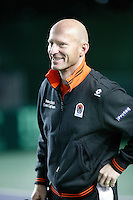 5-4-07, England, Birmingham, Tennis, Daviscup England-Netherlands, Coach Rohan Goetzke
