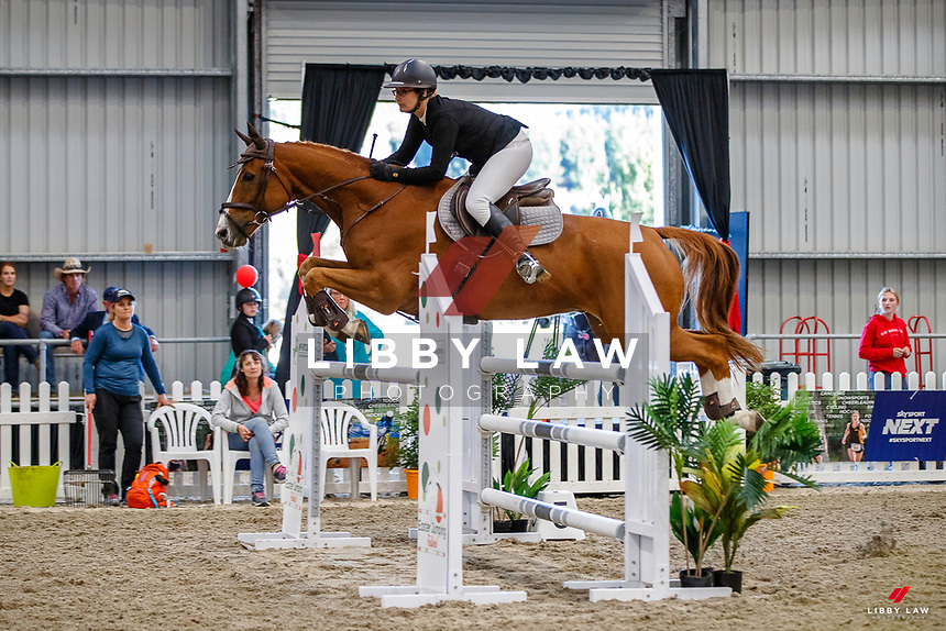 Kate Hewlett and Rosanna Dickson. 1.15m-1.20m Relay. 2021 NZL-Easter Jumping Festival presented by McIntosh Global Equestrian and Equestrian Entries. NEC Taupo. Saturday 3 April. Copyright Photo: Libby Law Photography