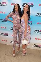 Emily Miller and Christina Carmela<br /> at the 'Too Hot to Handle' season 2 screening, London.<br /> <br /> ©Ash Knotek  D3566 23/06/2021