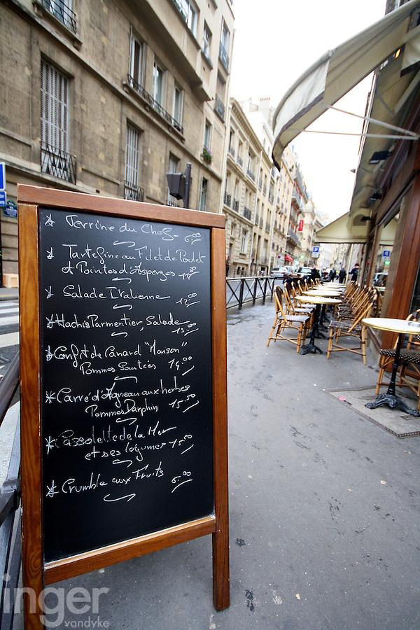 Bistro in Paris, France