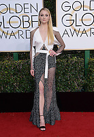 Sophie Turner @ the 74th annual Golden Globe awards held @ the Beverly Hilton hotel. January 8, 2017