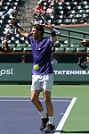 Cameron Norrie (GBR) defeated Diego Schwartzman (ARG) 6-0, 6-2, at the BNP Paribas Open being played at Indian Wells Tennis Garden in Indian Wells, California on October 14,2021: ©Karla Kinne/Tennisclix/CSM