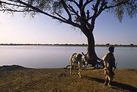 - northern Sudan, the river Nile <br /> <br /> - Sudan settentrionale, il fiume Nilo