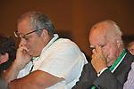 GOFFREDO BETTINI E ALFREDO REICHLIN<br /> ASSEMBLEA PARTITO DEMOCRATICO - HOTEL MARRIOTT ROMA 2009