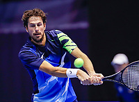 Rotterdam, Netherlands, December 12, 2017, Topsportcentrum, Ned. Loterij NK Tennis, Robin Haase (NED)<br /> Photo: Tennisimages/Henk Koster