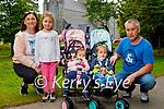 The Bohan family enjoying a stroll in the National Park in Killarney on Monday, l to r: Caroline, Amelia, Tara, Donnacha and Martin Bohan,
