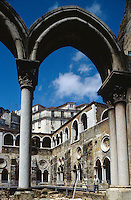 Portugal, Kirche Santo Antonio da Se in Lissabon, Kreuzgang