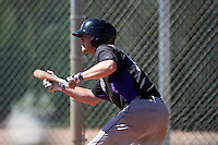 Colorado Rockies Taylor Snyder (70) during practice before an Instructional League game against SK Wyvern of Korea on October 5, 2016 at Salt River Fields at Talking Stick in Scottsdale, Arizona.  (Mike Janes/Four Seam Images)