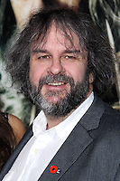 """HOLLYWOOD, CA - DECEMBER 02: Peter Jackson arriving at the Los Angeles Premiere Of Warner Bros' """"The Hobbit: The Desolation Of Smaug"""" held at Dolby Theatre on December 2, 2013 in Hollywood, California. (Photo by Xavier Collin/Celebrity Monitor)"""