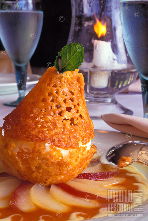 Dessert at the Four Seasons Wailea, Maui
