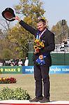10 October 2010.  Boyd Exell from Australia wins the Gold medal for Individual in the Driving competition.