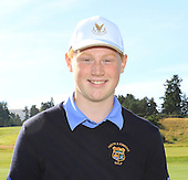 "Jamie Roberts from Muckhart Golf Club is named as one of the ""DreamTeam"" of Junior Golfers who have been selected to take part in the The Gleneagles Foundation inaugural 12 month scholarship programme  : Picture Stuart Adams, www.golftourimages.com: 19/09/2015"