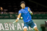Rotterdam, The Netherlands, Februari 9, 2016,  ABNAMROWTT, Hyeon Chung (KRO)<br /> Photo: Tennisimages/Henk Koster