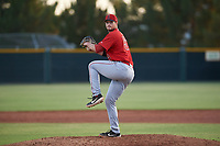 AZL Angels relief pitcher Clayton Chatham (57) during a game against the AZL Giants Orange at Giants Baseball Complex on June 17, 2019 in Scottsdale, Arizona. AZL Giants Orange defeated AZL Angels 8-4. (Zachary Lucy/Four Seam Images)