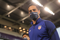 ORLANDO CITY, FL - JANUARY 31: Sebastian Lletget #17 of the United States before a game between Trinidad and Tobago and USMNT at Exploria stadium on January 31, 2021 in Orlando City, Florida.