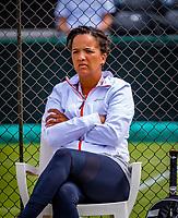 Den Bosch, Netherlands, 12 June, 2018, Tennis, Libema Open, coach Selma Androde (NED)<br /> Photo: Henk Koster/tennisimages.com